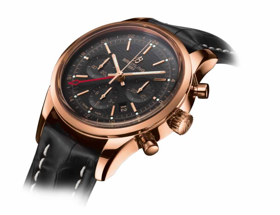 Breitling Transocean Chronograph GMT knock off